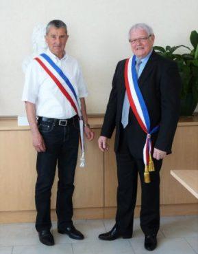 Mr le Maire et 2 eme adjoint
